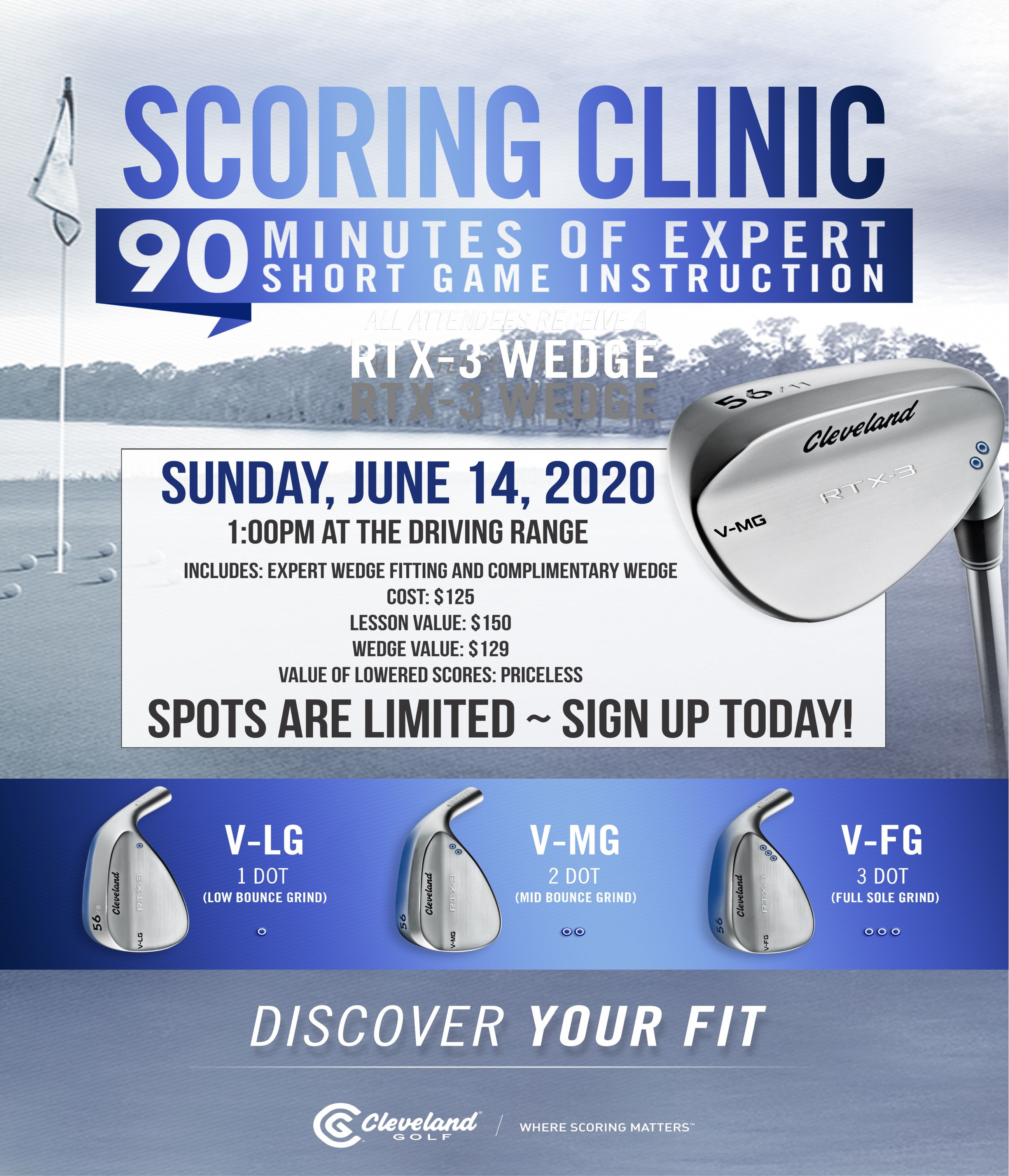tlcc cleveland wedge fitting